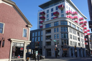The Vic on Hollis reflects its neighbourhood at street level